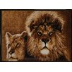 Home Dynamix Zone Lion Brown Area Rug