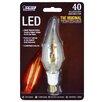 FeitElectric 40W 120-Volt Flame Tip LED Light Bulb