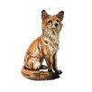 Alpine Sitting Fox Statue
