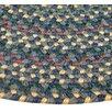 Thorndike Mills Pioneer Valley II Meadowland Blue Multi-colored Runner Rug