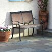 Alfresco Home Pilot Aluminum Garden Bench