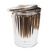 Norwesco 45-Gal Galvanized Garbage Can