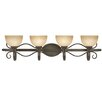 Wildon Home ® Lenora 4 Light Bath Vanity Light