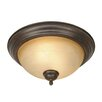 Wildon Home ® Lenora 2 Lights Flush Mount