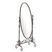 Wildon Home ® Templeton Mirror in Antique Bronze