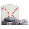 Wildon Home ® Bowdoin Baseball Twin Upholstered Headboard
