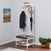 Wildon Home ® Taos Entryway Storage Rack Hall Tree