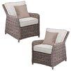 Wildon Home ® Kameron Outdoor Chair (Set of 2)