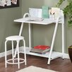Wildon Home ® Jennings 2 Piece Writing Desk and Stool Set