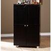 Wildon Home ® Capri Bar Cabinet with Wine Storage