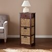Wildon Home ® Khoury 3-Basket Storage Tower