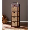 Wildon Home ® Khoury 4-Basket Storage Tower