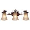Wildon Home ® Binghamton 3 Light Bath Vanity Light