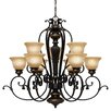 Wildon Home ® Cartleton 9 Light Chandelier