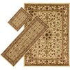 Wildon Home ® Uptown 3 Piece Green Area Rug Set
