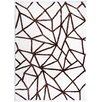 Wildon Home ® Glaxter Chocolate & Ivory Tufted Area Rug