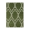 Wildon Home ® Alouette  Hand-Tufted Green Area Rug