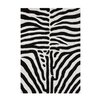 Wildon Home ® Aileen Hand-Tufted Black/White Area Rug