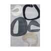 Wildon Home ® Allison  Hand-Tufted Gray Area Rug