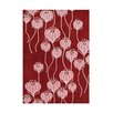 Wildon Home ® Andria  Hand-Tufted Red Area Rug