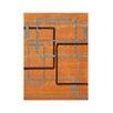 Wildon Home ® Anaclara  Hand-Tufted Orange Area Rug