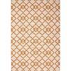 Wildon Home ® Dekowta Hand-Hooked Taupe/Orange Indoor/Outdoor Area Rug