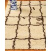 Wildon Home ® Arela Hand woven Geometric Cream Area Rug