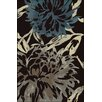 Wildon Home ® Chantael Charcoal/Teal Area Rug