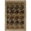 Wildon Home ® Gala Diamonds Beige/Green Area Rug