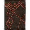 Wildon Home ® Gypsy Abstract Brown/Orange Area Rug