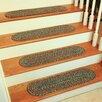 Wildon Home ® Cheralyn  Dark Taupe Stair Tread (Set of 13)