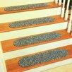 Wildon Home ® Cherokee Denim Indoor/Outdoor Stair Tread (Set of 13)