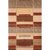 Wildon Home ® Adali Hand-Knotted Tan/Red Area Rug