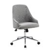 Wildon Home ® Carnegie Adjustable Mid-Back Office Chair in Grey