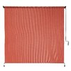 Coolaroo Exterior Shade Terracotta 6ft. x 6 ft. Awning