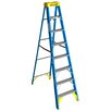 Werner 8 ft Fiberglass Step Ladder with 250 lb. Load Capacity