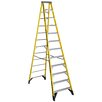 Werner 12 ft Fiberglass Step Ladder with 375 lb. Load Capacity