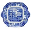 """Spode Blue Italian 11"""" English Bread and Butter Plate"""