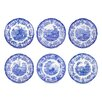 "Spode Blue Room 10.5"" Zoological Plate (Set of 6)"