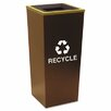 Ex-Cell Metro 18-Gal Industrial Recycling Bin