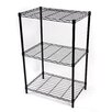 "Gold Sparrow Wire 32.09"" Three Shelf Shelving Unit"