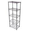 "Gold Sparrow Wire 61.02"" Five Shelf Shelving Unit"