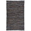 St. Croix Matador Leather Chindi Brown Area Rug