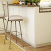 "Amisco Countryside Style 31.63"" Swivel Bar Stool with Cushion"