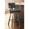 "Amisco Urban Style 30.25"" Swivel Bar Stool with Cushion"