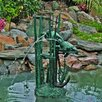 Brass Baron Sea Life Undersea Turtles Fountain