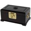 Oriental Furniture Rosewood Jewelry Box