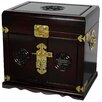 Oriental Furniture Lacquer Jewelry Armoire