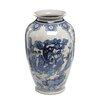 Oriental Furniture Ladies Tung Chi Vase