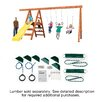 Swing-n-Slide Ready to Build Custom Pioneer DIY Swing Set Hardware Kit - Project 150